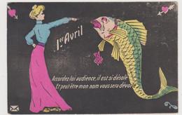 "Carte Fantaisie ""1er Avril"" - April Fool's Day"
