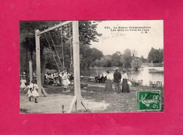 Le Repos Hebdomadaire, Les Jeux Au Bord De L'Eau, Parc St Maur?, Animée, Balançoire, 1908, (E. Malcuit) - Other