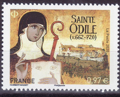FRANCE 2020 YT 5410 Sainte Odile 662 - 720 - Unused Stamps
