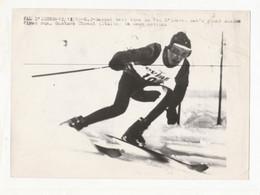 10321 Eb.  Foto ANSA Originale - Val D' Isere 12/12/69 Gustave Thoeni Gustav Thoni - Sport