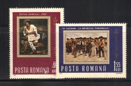 Roumanie 1967 Yvert 2302/03 Neufs** MNH (AD38/39) - Unused Stamps