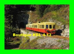 ART 301 - Autorail Picasso X 3886 Sortant Du Tunnel De La Gouille Aux Cerfs - Commune De LEZAT - Jura - SNCF - Otros Municipios