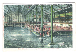 SAN FRANCISCO - Sutro Baths, Largest Bathing Establishment In The World - - San Francisco