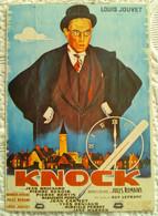 CPM Illustrée AFFICHE CINEMA FILM KNOCK LOUIS JOUVET - Posters On Cards