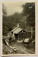 GRUYERES: CHAPELLE DE L'EVI AVEC ARMAILLIS  ET MULETS... JOLIE CARTE 1935 - FR Fribourg