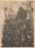 Photo 11 Novembre 1918 SAINT-NAZAIRE - Rassemblement Le Jour De L'armistice (A225, Ww1, Wk 1) - Saint Nazaire