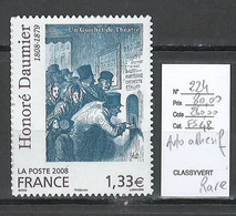 France - Yvert 224 - Daumier - Adhésif - - Sellos Autoadhesivos
