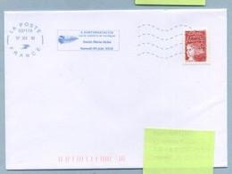 2010 Flamme Bleue Néopost  03717A  A SANTAMARIACCIA - Mechanical Postmarks (Advertisement)