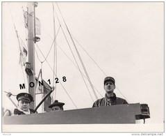 GENERAL DE GAULLE-PHOTO ORIGINALE 21,5x16,5 Cms-TAMPON OFFICE FRANCAIS D'INFORMATION CINEMATOGRAPHIQUE N° 59/21 - Oorlog, Militair