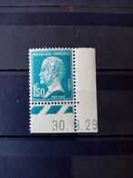 FRANCE.1923 . N° 181cd29.  PASTEUR . NEUF Sans Charnière. Côte YT 2020 : 25 € + Valorisation Du Coin Daté. - ....-1929