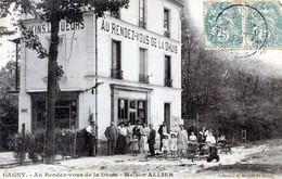 93  GAGNY   CAFE AU RENDEZ VOUS DE LA DHUYS  MAISON ALLIER - Gagny