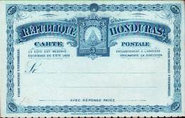 ! 2 Alte Ganzsachen Honduras, Postal Stationary - Honduras