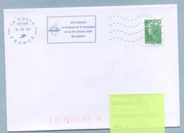2009 Flamme Bleue Néopost  03718A  FESTIMONTI - Mechanical Postmarks (Advertisement)