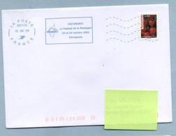 2009 Flamme Bleue Néopost  03717A  FESTIMONTI - Mechanical Postmarks (Advertisement)