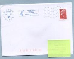 2009 Flamme Bleue Néopost  03718A  FESTIVAL DU VENT FESTIVENTU - Mechanical Postmarks (Advertisement)