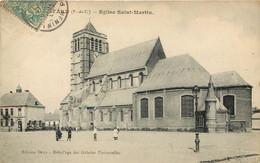 62 - HENIN LIETARD - Eglise St Martin En 1905 - Henin-Beaumont