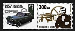 2002 R. De Guinée, OTTO + Otto Engine - OPEL Olympia, 1957, MNH - Autos