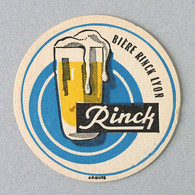 Brasserie Brasserie Rinck, Lyon (Sous-bock Beermat Coaster Bierdeckel Bierviltje) - Sotto-boccale