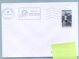 2008 Flamme Bleue Néopost  10003A SAINT-LO - Annullamenti Meccanici (pubblicitari)