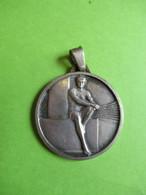 Médaille De  Sport Ancienne/ATHLETISME ? /Bronze Nickelé / Vers 1920-1930      SPO353 - Athletics