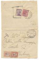 DA AUDITORE AD URBINO - 8.10.1826 - TASSATA PER BOLLO FUORI CORSO. - Marcofilie