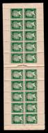 Algerie - Carnet De 20 Timbres YV 9 N** (quelques Petites Jaunissures Au Verso) Complet Pasteur , Rare - Briefe U. Dokumente