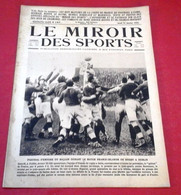 Miroir Des Sports N°187 Janvier 1924 Rugby France Irlande Dublin,Ouverture Jeux Olympiques D'Hiver Chamonix - Sport