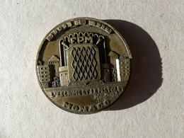 Médaille Sport Escrime, Tir Au Pistolet, Monaco FPM 1909-1984, Signée Marcel Sbirzoli - Andere