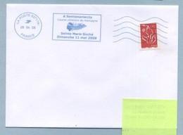2008 Flamme Bleue Néopost  03717A JA SANTAMARIACCIA - Mechanical Postmarks (Advertisement)