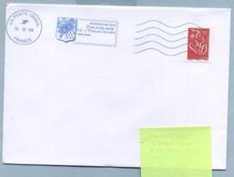 2008 Flamme Bleue Néopost  19595A  Association Philatélique De L'Océan Indien - Mechanical Postmarks (Advertisement)