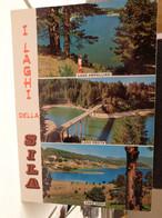 Cartolina Laghi Della Sila, Lago Ampollino, Lago Cecita, Lago Arvo Calabria - Sin Clasificación