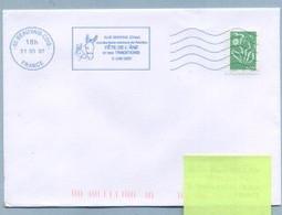 2007 Flamme Bleue Néopost  60 BEAUVAIS CDIS  AUX MARAIS DES ANES - Mechanical Postmarks (Advertisement)