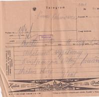 UKRAINE. POLAND. # 5963 DOCUMENTS Ternopil. 1928 TELEGRAM. - Supplies And Equipment