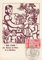 CARTE  CACHET COMMEMORATIF BOL D'AIR DES GAMINS DE PARIS 5.12.1965  /2 - Commemorative Postmarks