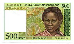 Madagascar -  500 Francs - UNC - Madagascar