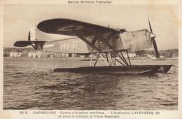 Aviation :  Marine Militaire Française : L'hydravion Latécoère 29 à Cherbourg   ///  Ref. Déc.  20 /// N° 14.134 - 1946-....: Moderne