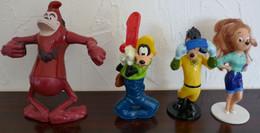 Lot De 4 Mac Do Happy Meal Disney Roi Louis Dingo Roxana - McDonald's