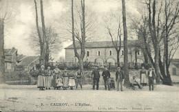- 08 -  CAUROY -  L'église - Otros Municipios