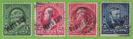 Voyo USA PUERTO RICO 1899  1,2,5c  Mi#168-170 (o) - Puerto Rico