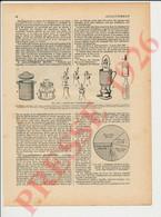3 Vues Presse 1926 Allaitement Maternel Lait Bébé Biberon Matériel Allaitement Artificiel 146/4 - Zonder Classificatie