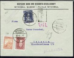 Turquie - Affranchissement Tricolore Sur Enveloppe En Recommandé De Istanbul 30-4-1930 Pour Leipzig (All) B/TB - - Briefe U. Dokumente