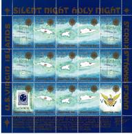 U.S. Virgin Islands 1987; Christmas Seals; Full Sheet, MNH(**). - Danish West Indies