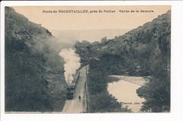 Carte De  La Route De Rochetaillé Près Saint Vallier Vallée De La Galaure ( Train )( Recto Verso ) - Sonstige Gemeinden