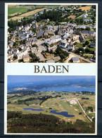 BADEN - Le Bourg - Le Golf De Baden (carte Multivues) - Otros Municipios