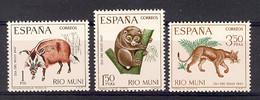 Rio Muni 1967 - Dia Del Sello Ed 80-82 (**) - Riu Muni
