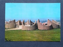 PRIŠTINA KOSOVO Spomen Kosturnica Palim U NOB Postcards Traveled 1982  (Y2) - Kosovo