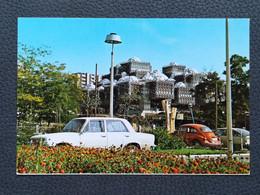 PRIŠTINA KOSOVO (VW Betlle, Car) Postcards Traveled 1982  (Y2) - Kosovo