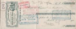 Hal-lez-Bruxelles - Brussel - VanLier - Chicorée Pacha - 1912 - Wiegman's Bank - Unclassified