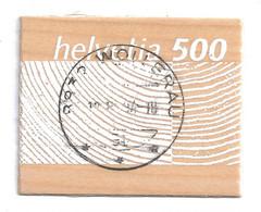 SUISSE SWITZERLAND SCHWEIZ Wood Stamp Holzmarke Michel-No.1889, Used - Used Stamps