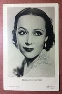 Old ROSS Photo Postcard 1920s Mexican Movie Actress SEXY Dolores Del Rio Cinema Star - Actores